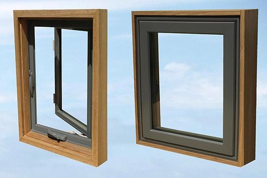 английские окна из стеклокомпозита
